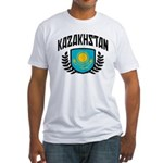Kazakhstan Fitted T-Shirt