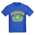 Kazakhstan Kids Dark T-Shirt