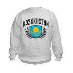 Kazakhstan Kids Sweatshirt