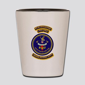 US - NAVY - BeachMaster Unit One Shot Glass