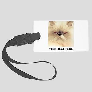 Cat Photo Customized Large Luggage Tag