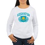 Kazakhstan Women's Long Sleeve T-Shirt