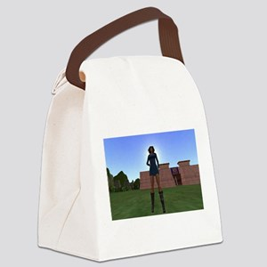 Dolly At Thebes Canvas Lunch Bag