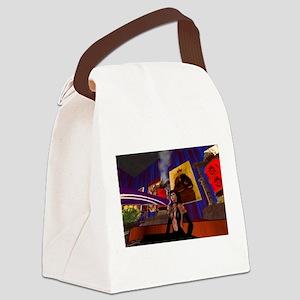 Temple Didge Canvas Lunch Bag