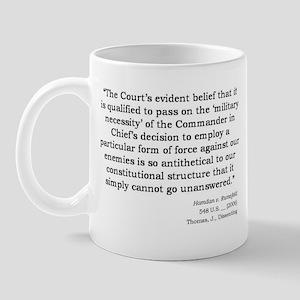 Hamdan v. Rumsfeld Mug