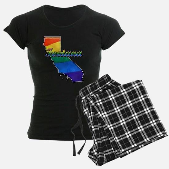 Fontana, California. Gay Pride Pajamas