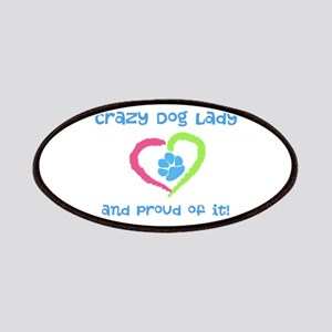 Crazy Dog Lady Patches