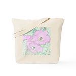 Pink Cactus Flowers Tote Bag
