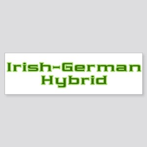 Irish German Hybrid Bumper Sticker