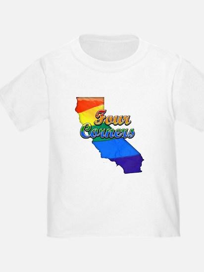 Four Corners, California. Gay Pride T