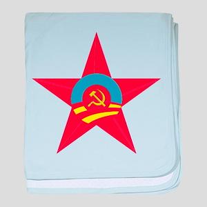 Obama Communist Star baby blanket