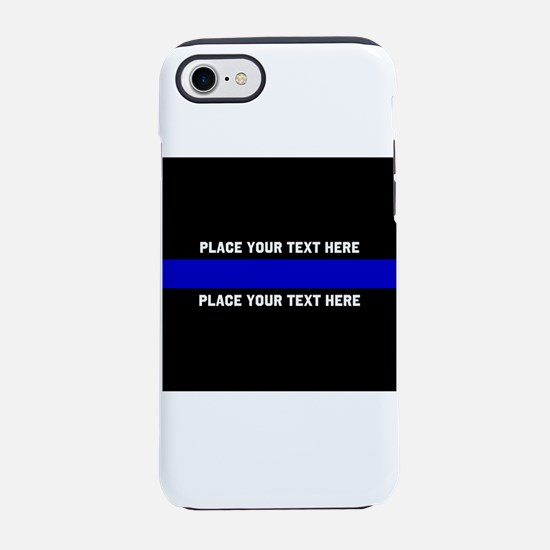 Thin Blue Line Customized iPhone 7 Tough Case