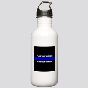Thin Blue Line Customi Stainless Water Bottle 1.0L