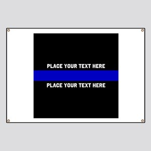 Thin Blue Line Customized Banner