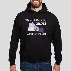 Walk a Mile in My Shoes Lupus Hoodie (dark)