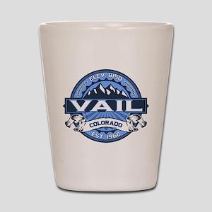 Vail Blue Shot Glass