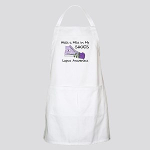 Walk a Mile in My Shoes Lupus Apron