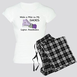 Walk a Mile in My Shoes Lupus Women's Light Pajama
