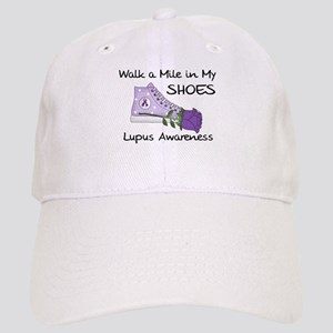 Walk a Mile in My Shoes Lupus Cap