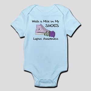 Walk a Mile in My Shoes Lupus Infant Bodysuit