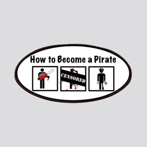 How to Become a Pirate Patches