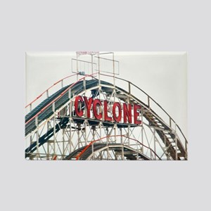 Coney Island: Cyclone Rectangle Magnet