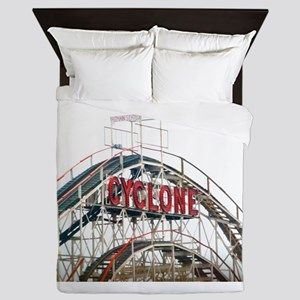 Coney Island: Cyclone Queen Duvet