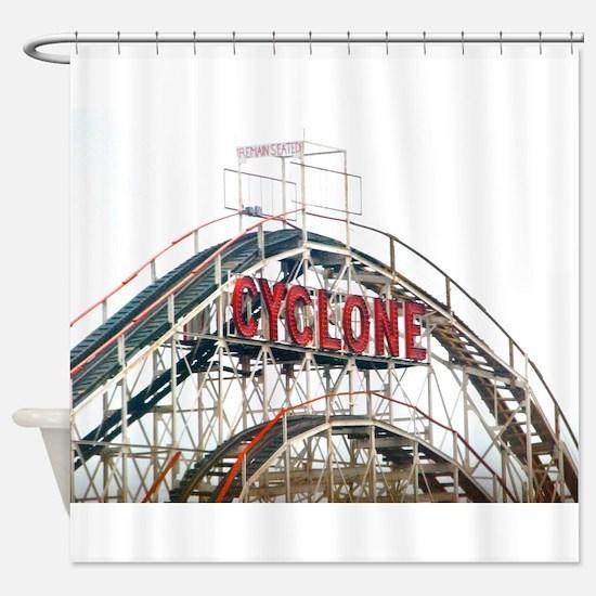 Coney Island: Cyclone Shower Curtain