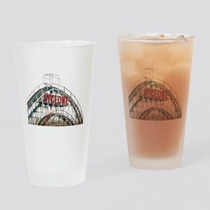 Coney Island: Cyclone Drinking Glass