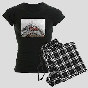 Coney Island: Cyclone Women's Dark Pajamas