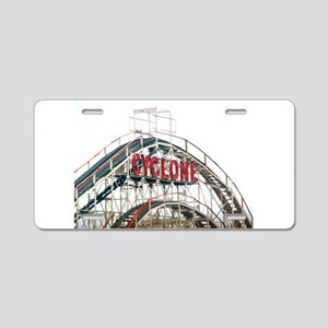 Coney Island: Cyclone Aluminum License Plate