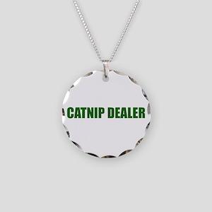 CATNIP DEALER Necklace Circle Charm