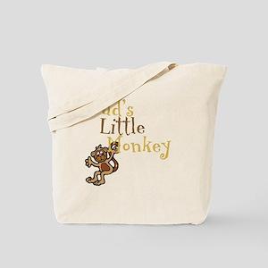 Little Monkey Tote Bag