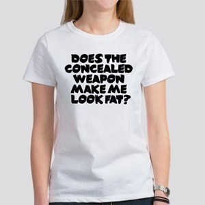 Does The Concealed Weapon Mak Women's T-Shirt