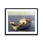 USS FREDERICK Framed Panel Print