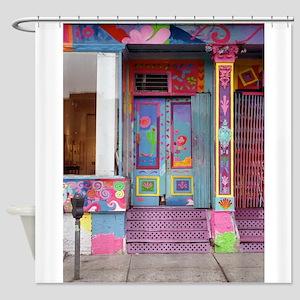 SoHo:New York Art Gallery Shower Curtain