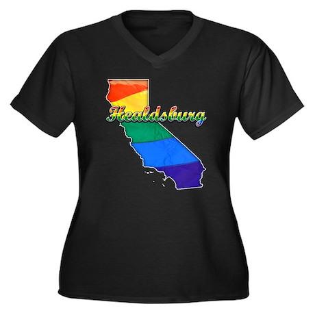 Healdsburg, California. Gay Pride Women's Plus Siz
