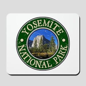 Yosemite Nat Park Design 1 Mousepad