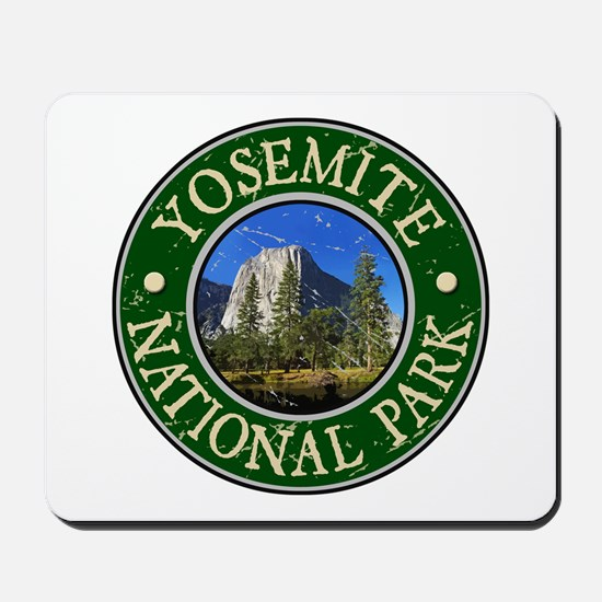 Yosemite Nat Park Design 1 Mousepad