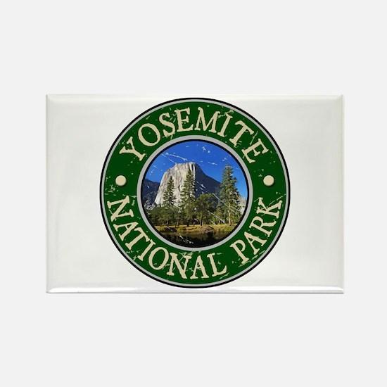 Yosemite Nat Park Design 1 Rectangle Magnet