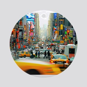 Times Square: No. 10 Ornament (Round)