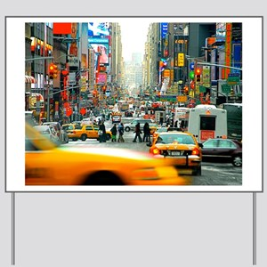 Times Square: No. 10 Yard Sign