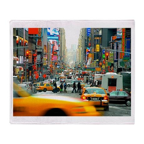 Times Square: No. 10 Throw Blanket