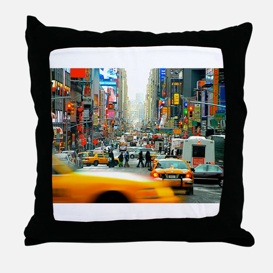 Times Square: No. 10 Throw Pillow