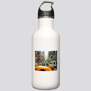 Times Square: No. 10 Stainless Water Bottle 1.0L