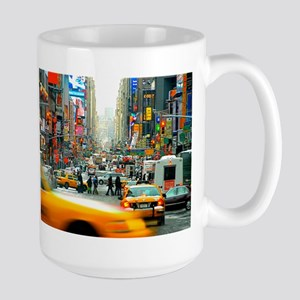 Times Square: No. 10 Large Mug