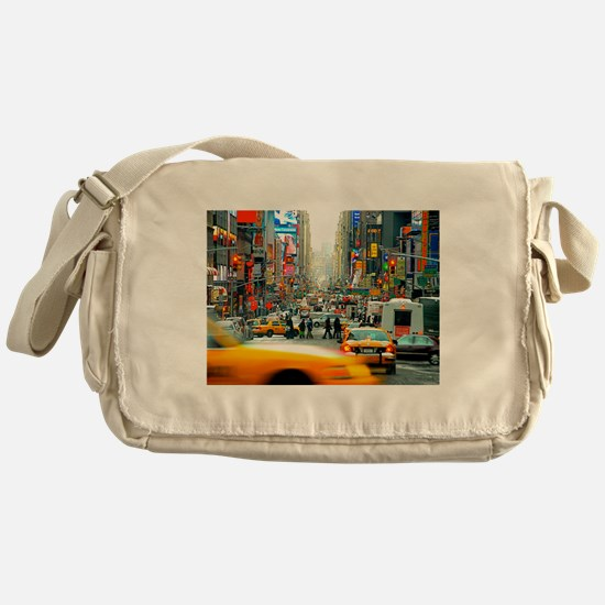 Times Square: No. 10 Messenger Bag