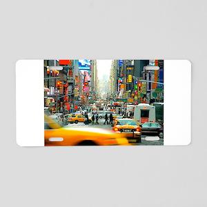 Times Square: No. 10 Aluminum License Plate