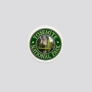 Yosemite Nat Park Design 2 Mini Button