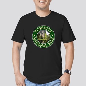 Yosemite Nat Park Design 2 Men's Fitted T-Shirt (d